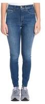 Cycle Women's Blue Cotton Jeans.