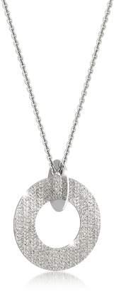 Rebecca R-Zero Rhodium Over Bronze and Steel Long Necklace