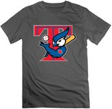 SLIAT Men's 2016 Toronto Creative Design Blue Jays Logo T-shirts DeepHeather