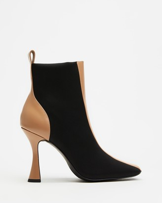 Senso Women's Black Heeled Boots - Uli - Size One Size, 39 at The Iconic