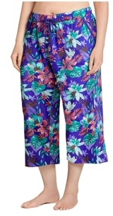 Jockey Plus Size Cotton Capri Pajama Pants