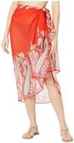 Echo New York Paisley Pareo Wrap (Passion Flower) Women's Swimwear