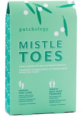 Patchology Mistletoes Foot Exfoliation & Hydration Kit