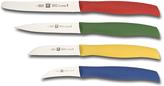 Zwilling J.A. Henckels Green & Yellow Grip Four-Piece Knife Set