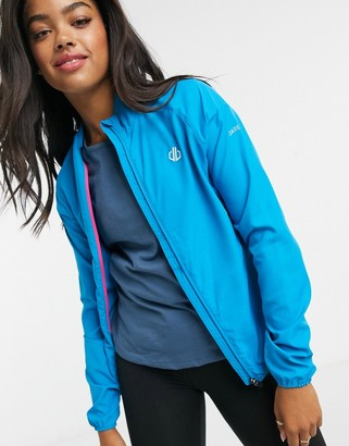 Dare 2b windshell shower resitant jacket in blue jewel