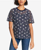 Tommy Hilfiger Lace T-Shirt, Created for Macy's