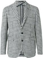 Tagliatore checked blazer - men - Cotton/Linen/Flax/Polyamide/Polyacrylic - 46