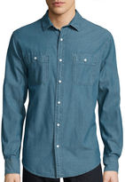Arizona Vintage Chambray Long-Sleeve Woven Shirt