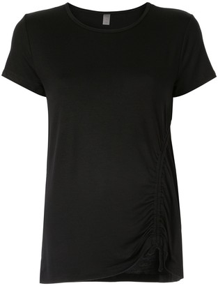 Beyond Yoga ruched detail T-shirt