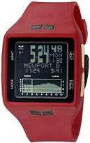 Vestal Unisex BRGOLD04 Brig Digital Display Quartz Red Watch
