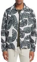 Herschel Leaf Print Coach Jacket