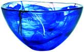Kosta Boda Contrast Bowl Blue