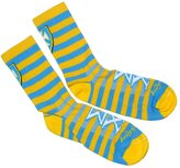 Express Design Group Sigma Chi Striped Socks
