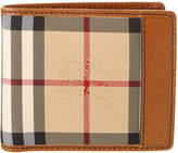 Burberry Horseferry Check Leather Lined Folding Wallet