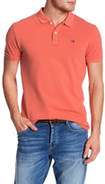 Scotch & Soda Solid Short Sleeve Polo