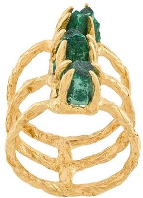 Niza Huang Delta layered ring