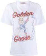 Golden Goose cowgirl print T-shirt