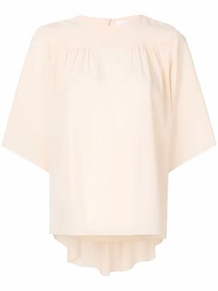 Chloé waterfall back T-shirt