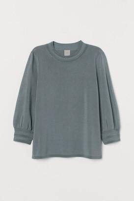 H&M Fine-knit viscose-blend top