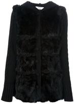 Blugirl Rabbit fur coat