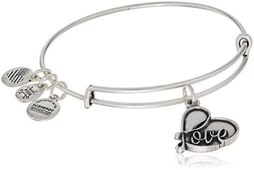 Alex and Ani Love IV Charm Bracelet