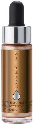 COVER FX Custom Enhancer Drops 15Ml Sunlight (Soft, Glowing Gold)