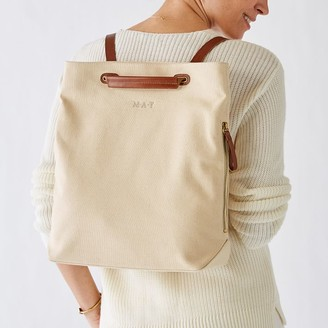 Mark And Graham Canvas Bedford Backpack