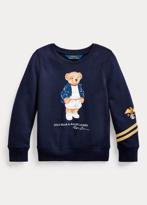 Ralph Lauren Blazer Bear Terry Pullover