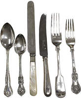 One Kings Lane Vintage Mixed Pattern English Flatware