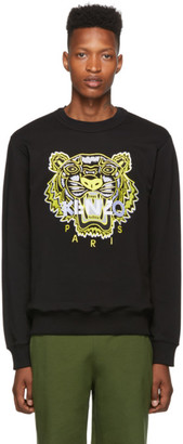 Kenzo Black Limited Edition High Summer Tiger Sweatshirt