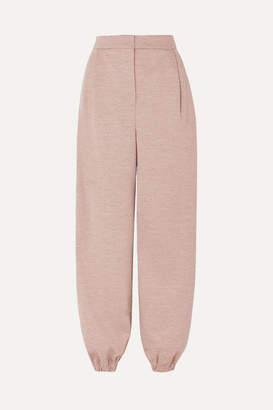 Roksanda Wool-jersey Tapered Pants - Beige