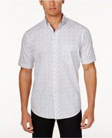 Club Room Men's Printed Shirt, Created for Macy's