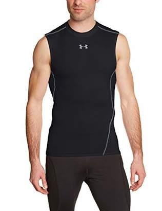 Under Armour Men's Hg Sleeveless 125746 T-Shirt, (Black 1257469-001), Large