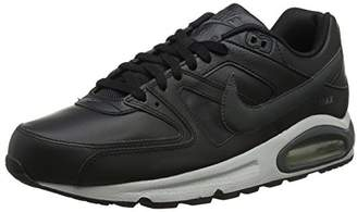 Nike Men's AIR MAX Command Leather Running Shoes, (Black/Anthracite-Neutral Grey 001), 39 EU