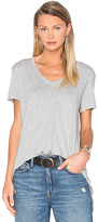 Wilt Pima Vintage Pocket V Neck Tee