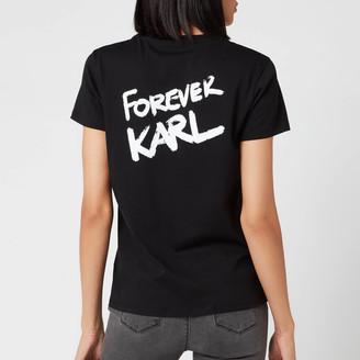 Karl Lagerfeld Paris Women's Forever T-Shirt