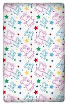Peppa Pig Fitted Sheet - Toddler