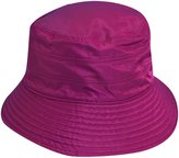 Scala Classico Women's Nylon Waterproof 3 Inch Brim Lined Rain Hat