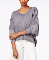 Free People Back It Up Open-Back Sweater