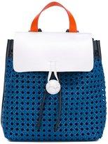 Corto Moltedo medium 'Rose' backpack - women - Nappa Leather/Canvas - One Size