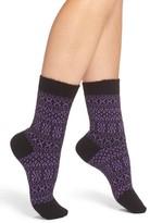 Pantherella Women's Faith Fair Isle Crew Socks