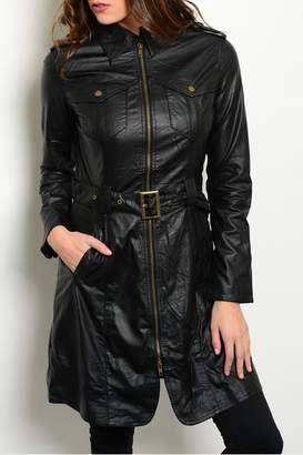 Ark & Co Black Long Coat