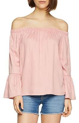 Only Women's Onlsandy Off Shoulder Top PNT Blouse,8 (Manufacturer Size: )
