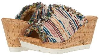 Minnetonka York (Winona Fabric) Women's Wedge Shoes