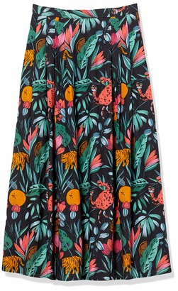 Finders Keepers findersKEEPERS Women's High Rise Sally Full Midi Skirt