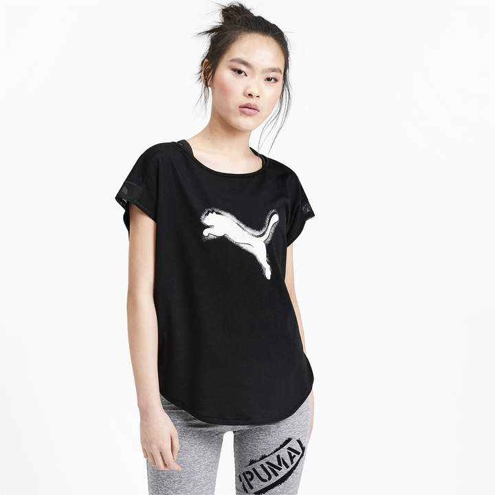 a69d04d28d Studio Women's Mesh Cat Tee
