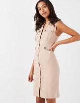 Star by Julien Macdonald Military Style Midi Dress