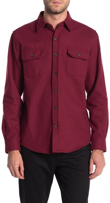 Weatherproof Heavy Twill Shirt Jacket