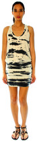 Saint Grace Vida Tank Dress In Black Tiger Wash