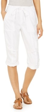 Tommy Hilfiger Cropped Drawstring Pants